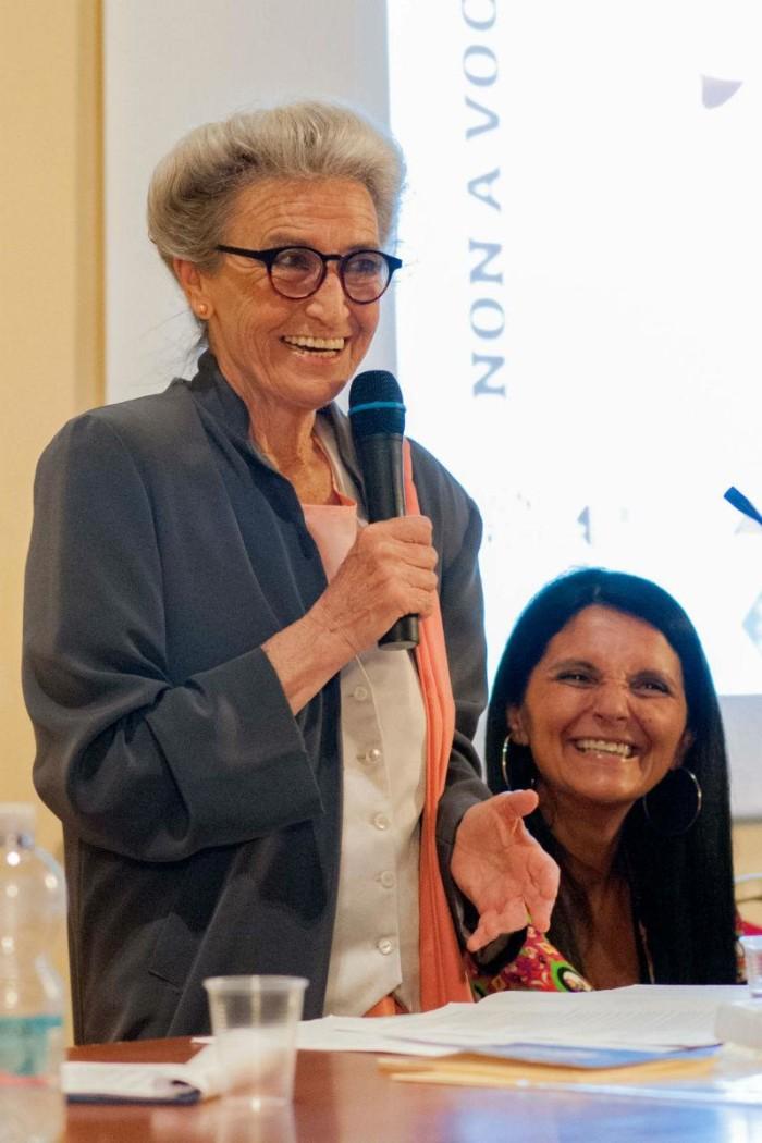 Barbara Alberti e Oriana Salvucci