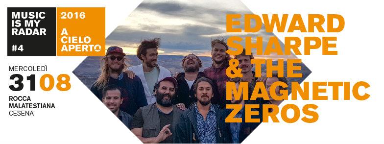 Edward Sharpe and The Magnetic Zeros a Cesena per A Cielo Aperto 2016