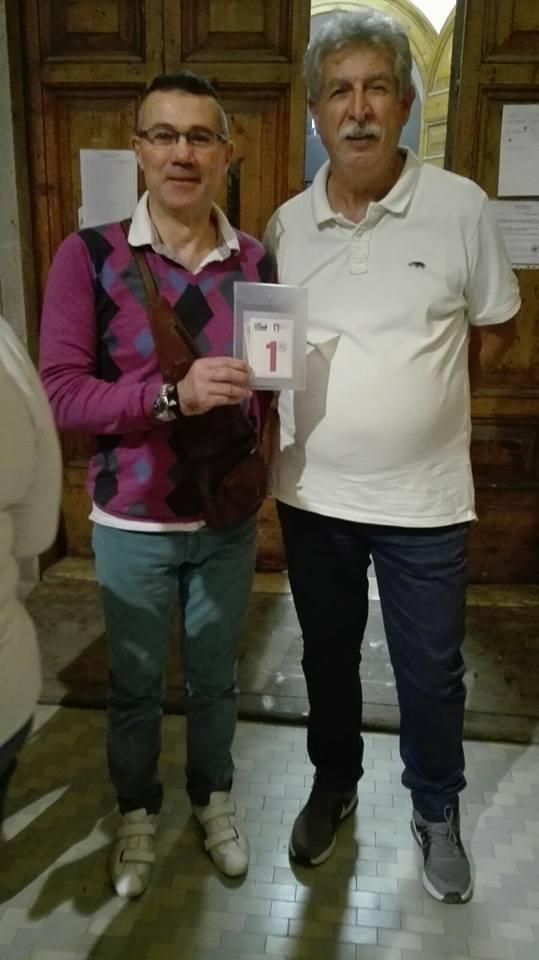 Adrio Maraschio e Stefano Cesini si aggiudicano la sesta tappa del Gran prix regionale di burraco lell'U.S. Acli Marche