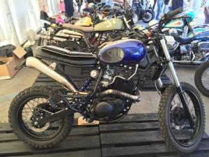 Bombay Street Garage al  The Distinguished Gentlemans Ride - Pescara 2016