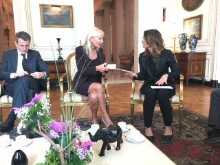 Ambasciata Italiana Ambasciatrice Teresa Castaldo,