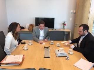 Bora e Francisco Resnicoff -Direttore generale delle relazioni internazionali e cooperazione Governo della città di Buenos Aires