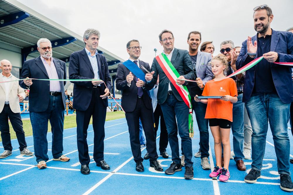 Inaugurata la nuova pista di atletica a San Benedetto