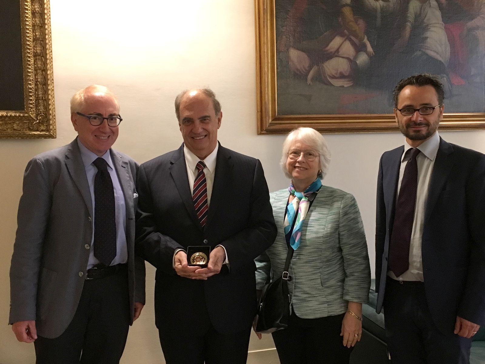 UniMc, il rettore incontra il giudice della corte internazionale dell'Aia
