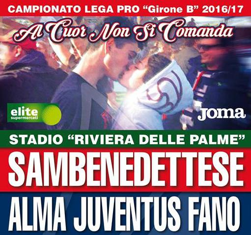 LegaPro, Sambenedettese-Fano 1-0. Mancuso regala la terza vittoria ai rossoblu