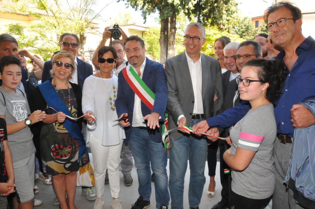 """Sisma – Acquasanta Terme, inaugurata la nuova scuola secondaria """"Nicola Amici"""""""