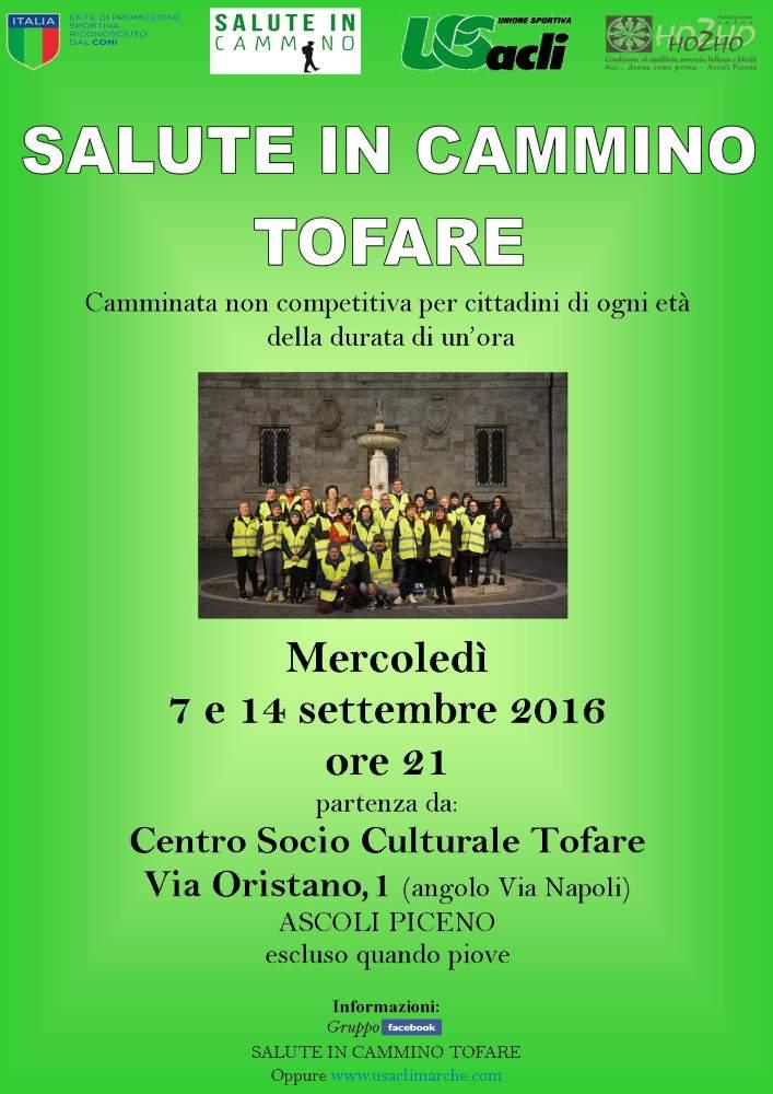 """Anche Ascoli Piceno partecipa alla """"Settimana europea dello sport"""" con """"Salute in cammino"""""""