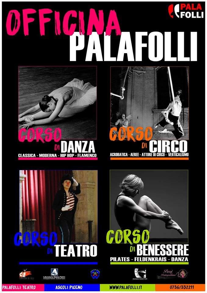 Ripartono i corsi al PalaFolli Teatro: danza, circo, teatro e molto altro!