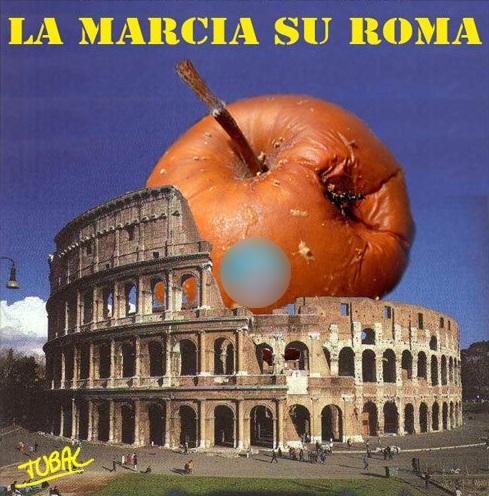 la marcia su Roma-di Tubal