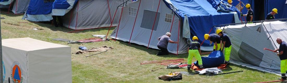 Un mese dal terremoto, chiuse gran parte delle tendopoli