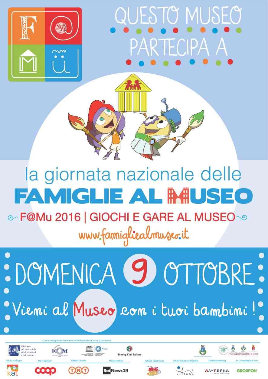 Suasa: Giornata Nazionale delle Famiglie al Museo
