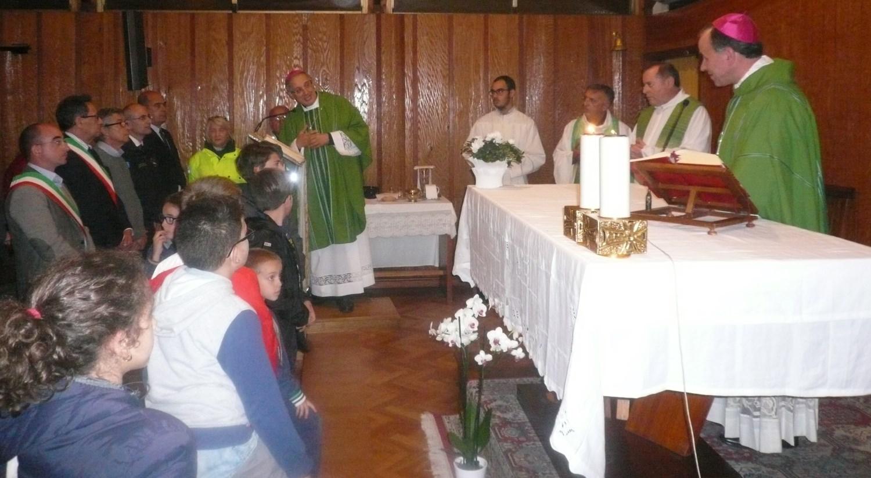 Messa per le vittime del terremoto