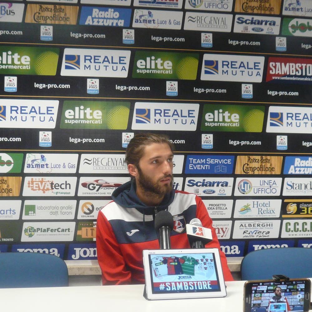 Lega Pro, Samb – FeralpiSalò 1 a 0: vittoria di rigore!