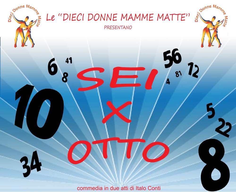 """Ddmm, commedia in due atti """"6 x 8"""" di Italo Conti al Teatro Marchetti"""
