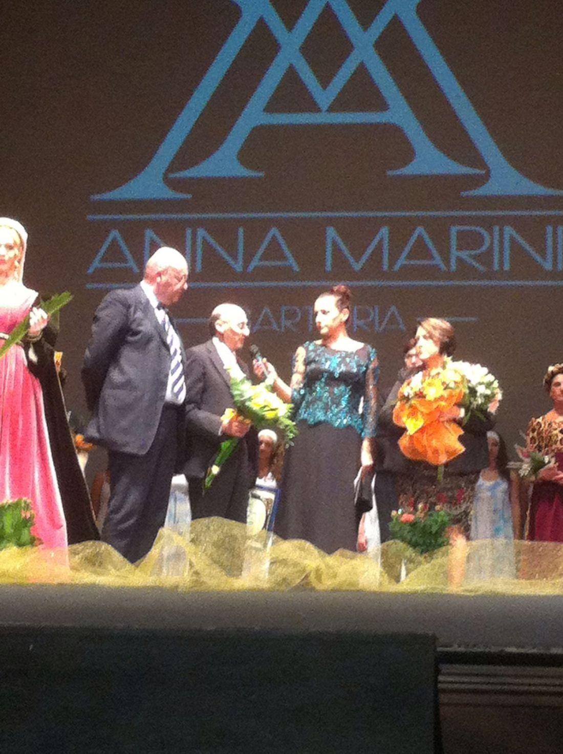 La Cna premia la stilista Anna Marini