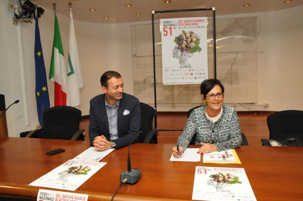 Fiera nazionale del Tartufo Bianco di Acqualagna si presenta in Regione