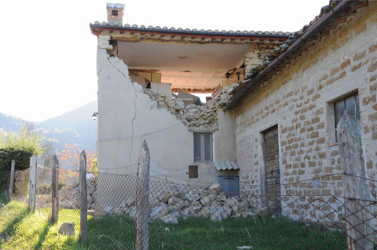Terremoto: si stanno avviando le attività del presidio veterinario di Muccia
