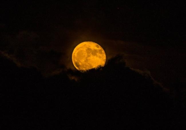 San Benedetto del Tronto, 2016-11-15 - Super Luna Rossa