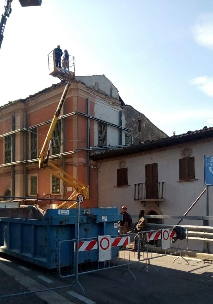 Penna Sant'Andrea, situazione post sisma