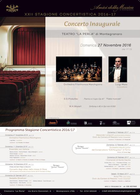 Luigi Maio musicattore al Teatro La Perla