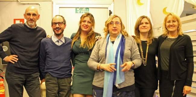 Giampietro De Angelis, Giorgio Di Mattia, Raffaella Milandri, Laura Castagna, Myriam Blasini e Catia Gambetta