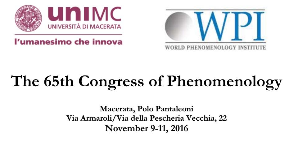 Studiosi da tutto il mondo all'UniMc per il convegno sulla fenomenologia