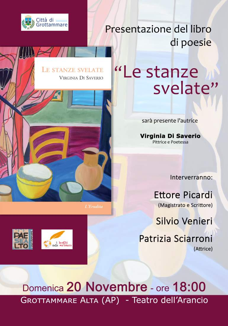 "Virginia Di Saverio, ""Le Stanze Svelate"""