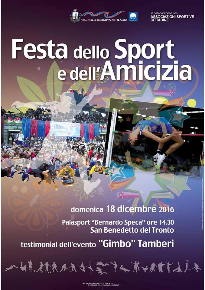 Festa dello Sport e dell'Amicizia al PalaSpeca con Gimbo Tamberi