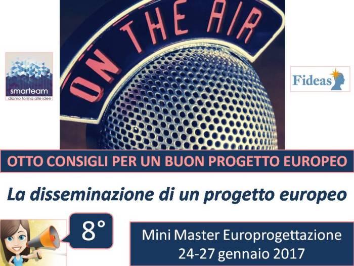 Conoscere l'importanza della disseminazione di un progetto europeo