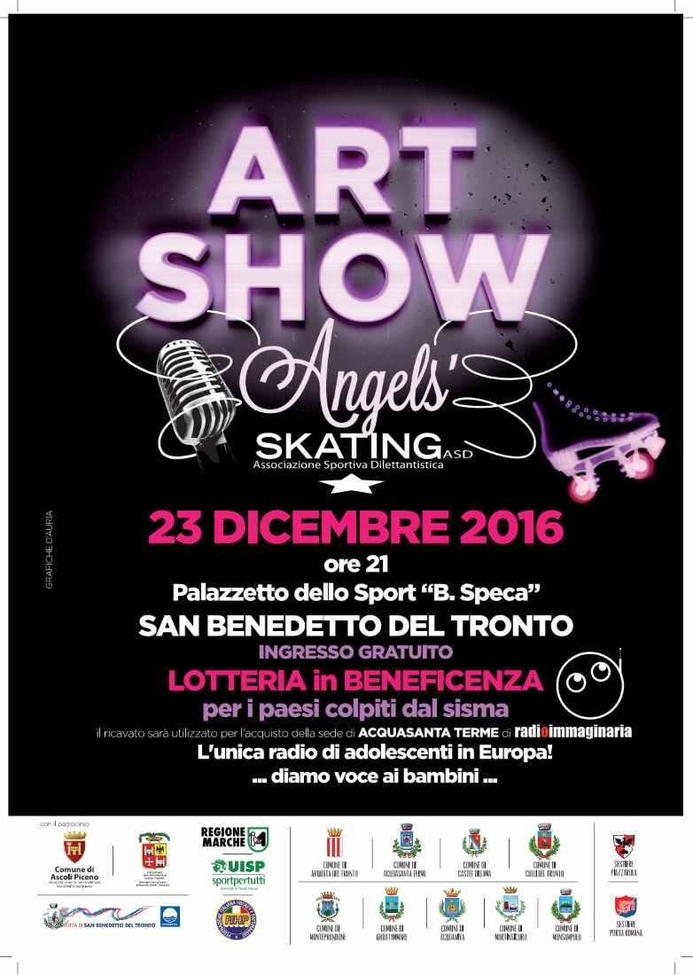 Angels' Skating, Art Show al PalaSpeca