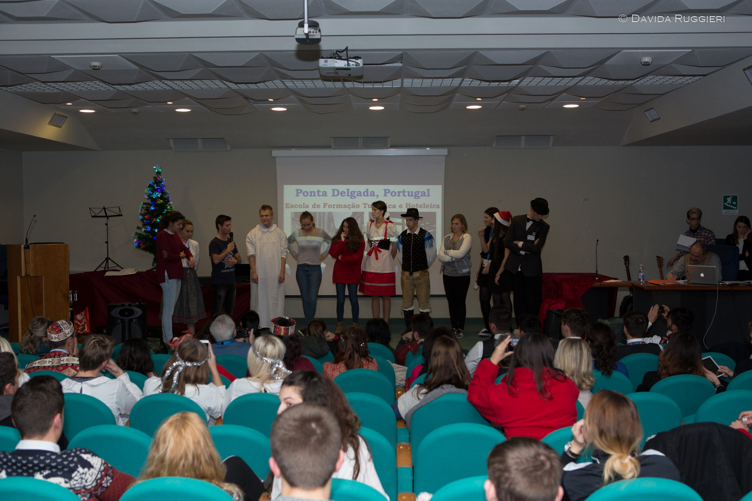 Christmas in Europe, spettacolo all'auditorium