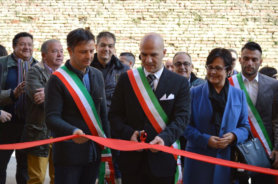 """Inaugurazione della nuova sede, Lucciarini: """"L'Unione della Vallata è il futuro"""""""
