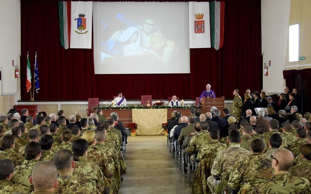 Esercito: celebrato il Natale al 235mo