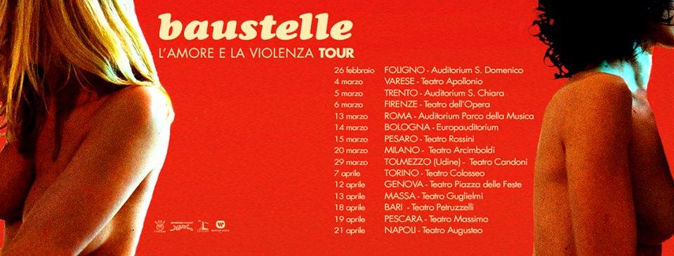 Baustelle, nel 2017 nuovo album e tour teatrale