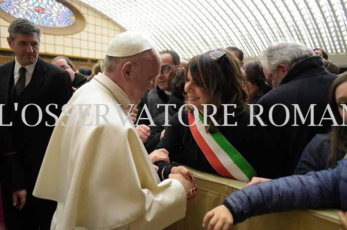 Il Papa convoca i terremotati: presente anche il comune di San Benedetto