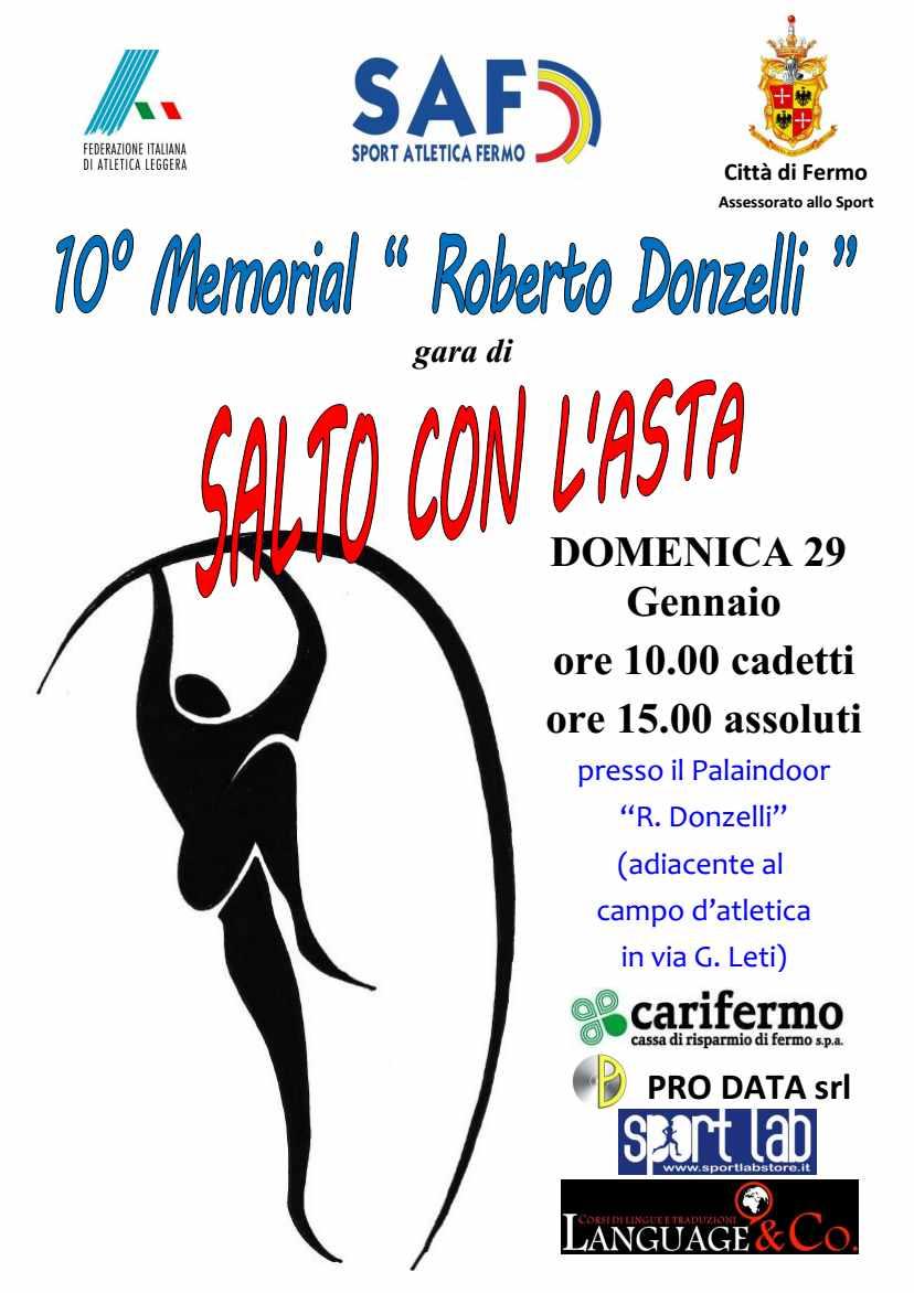 """Lo spettacolo del salto con l'asta a Fermo. 10 anni di memorial """"Roberto Donzelli"""""""
