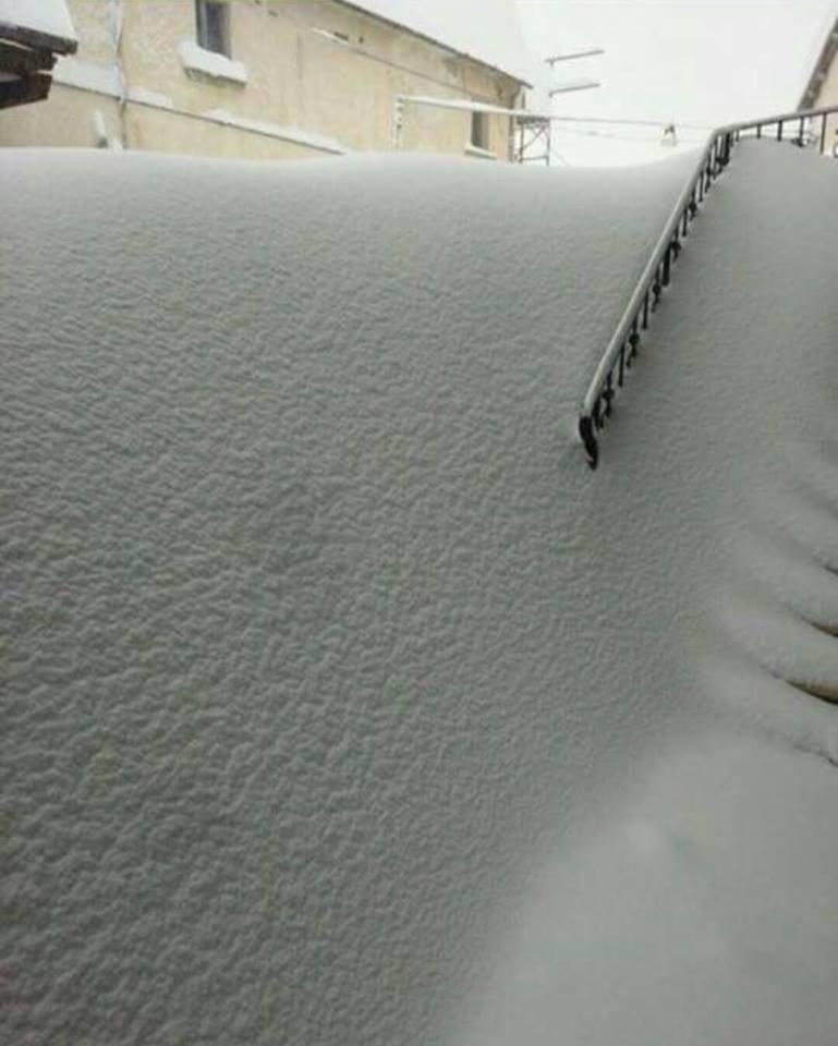 Neve, situazione critica a Valle Castellana