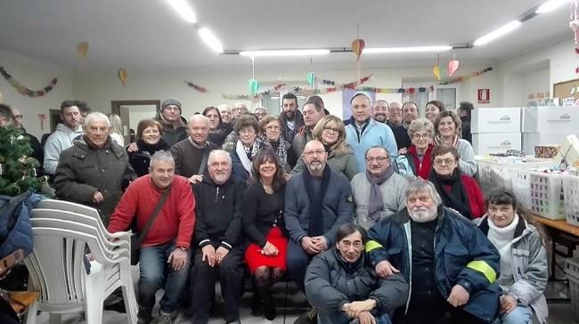 Da Copparo a San Benedetto per consegnare doni ai terremotati