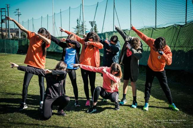 Corsa Campestre febbraio 2017 - Marino del Tronto - Liceo Scientifico Rosetti