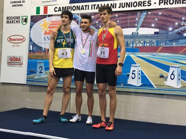 Andrea Pacitto sul podio