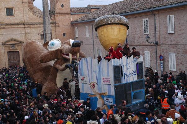 Carnevale Montefiorano: 6 i carri partecipanti