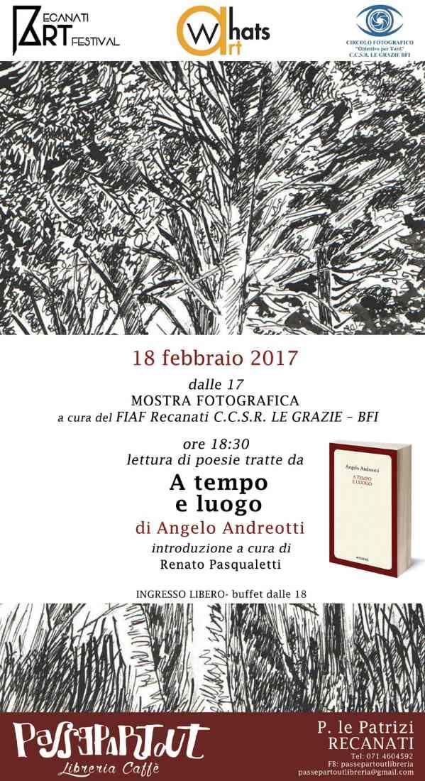 "Angelo Andreotti, ""A tempo e luogo"""