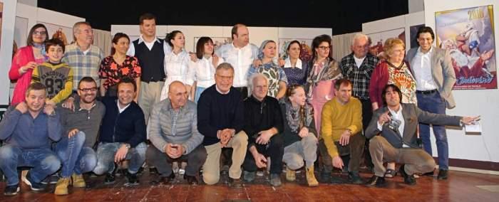 Il lido degli Aranci con gli attori di Montelparo