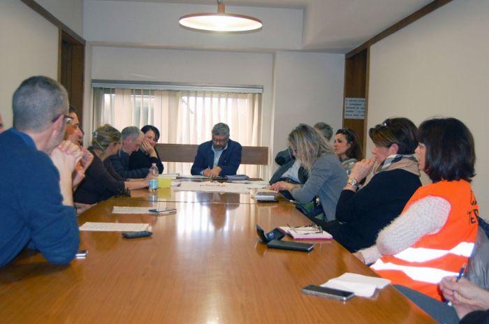 incontro con la delegazione della rete 'Terre in moto'