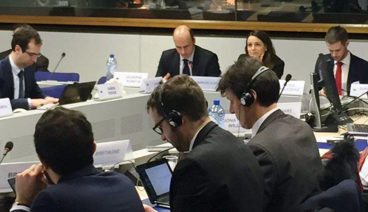 L'assessora Bora a Bruxelles, alla Conferenza delle regioni periferiche marittime d'Europa