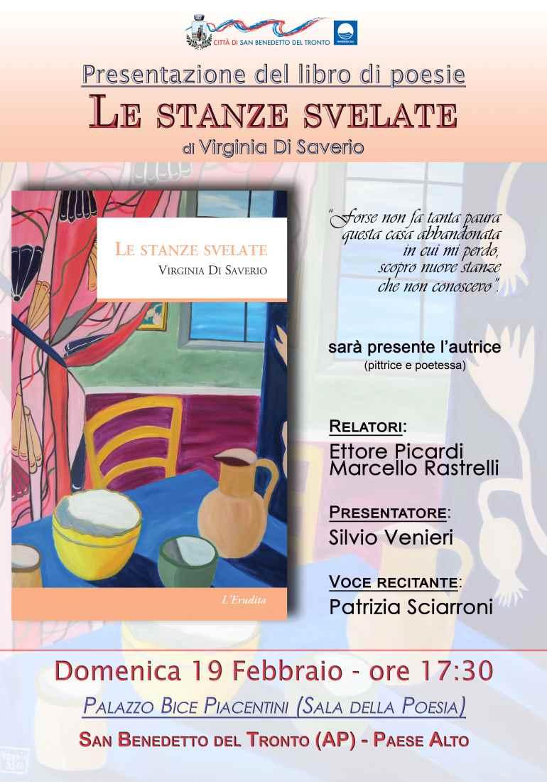 """Virginia Di Saverio, """"Le stanze svelate"""" al Palazzo Bice Piacentini"""