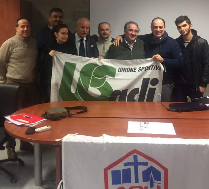 il nuovo consiglio regionale con il vice presidente nazionale Antonio Meola