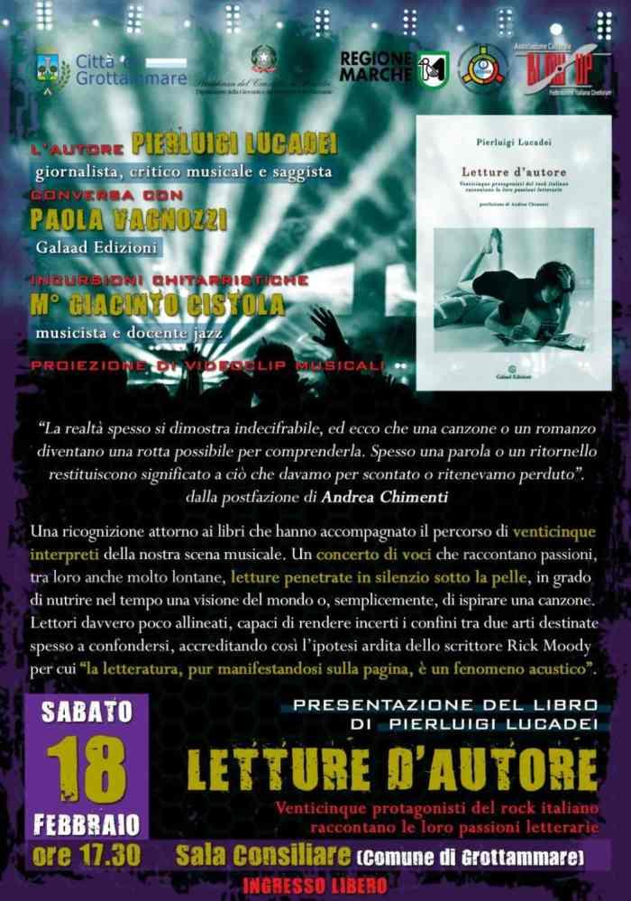 "Pierluigi Lucadei, ""Letture d'autore"""