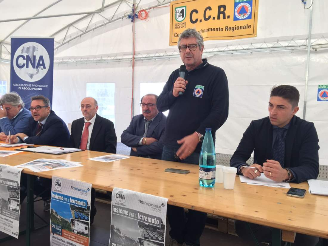 La Cna di Ascoli sulla ricostruzione, post terremoto e area di crisi complessa