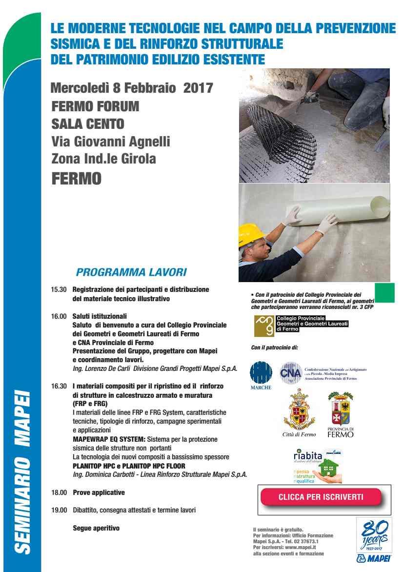 Cna, prevenzione sismica e rinforzo strutturale: seminario a Fermo